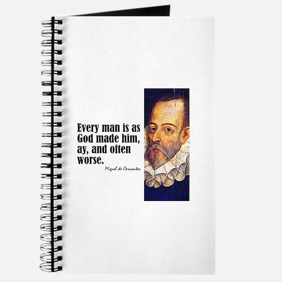 "Cervantes ""Every Man"" Journal"