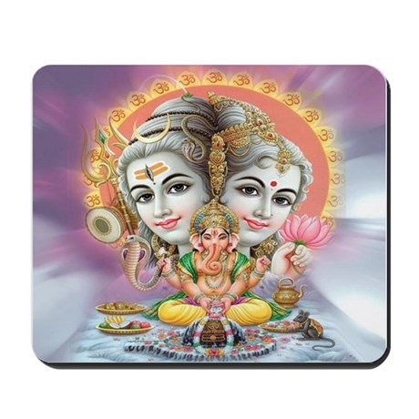 Ganesh Shiva Mousepad