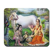 Yashoda and Krishna Mousepad