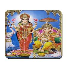 Ganesh Gaja Lakshmi Mousepad