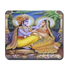Krishna and Radha Mousepad