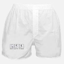 Don't Just Tri, Tri Hard (Box) Boxer Shorts