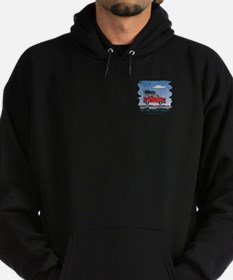 On the Road Again - Bright Sk Hoodie (dark)