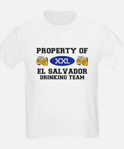 Property of El Salvador Drinking Team T-Shirt