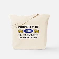 Property of El Salvador Drinking Team Tote Bag