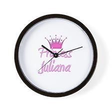 Princess Juliana Wall Clock