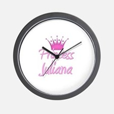 Princess Juliana Wall Clock