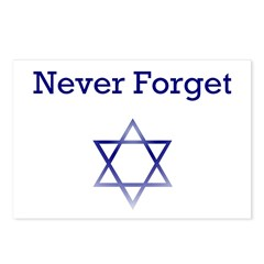 Holocaust Remembrance Star of David Postcards (Pac