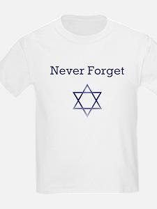 Holocaust Remembrance Star of David Kids T-Shirt