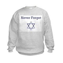Holocaust Remembrance Star of David Sweatshirt