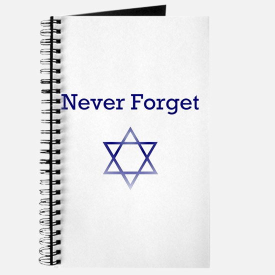 Holocaust Remembrance Star of David Journal
