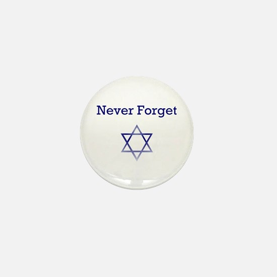 Holocaust Remembrance Star of David Mini Button
