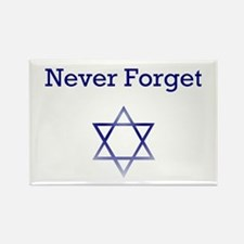 Holocaust Remembrance Star of David Rectangle Magn