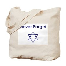 Holocaust Remembrance Star of David Tote Bag