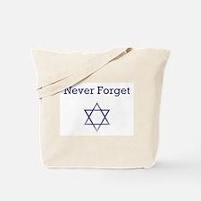Holocaust Remembrance Star of David Tote Bag