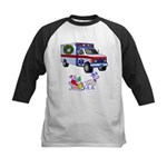 EMS Happy Holidays Greetings Kids Baseball Jersey