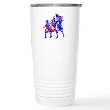 colonial colorguard Travel Mug