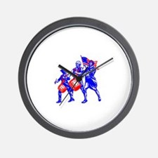 colonial colorguard Wall Clock