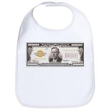 $100,000 Bill Bib