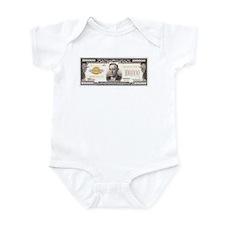 $100,000 Bill Infant Bodysuit