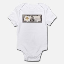 $100,000 Bill Infant Bodysuit