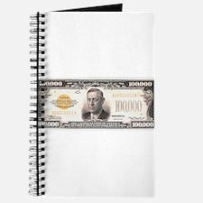$100,000 Bill Journal