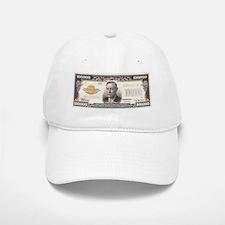 $100,000 Bill Baseball Baseball Cap