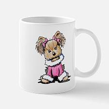 Pink Yorkie Cutie Mug