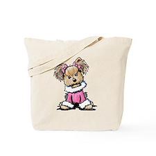 Pink Yorkie Cutie Tote Bag