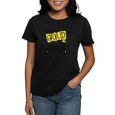 I Wear Gold For Fighters Survivors Taken 8 Tee