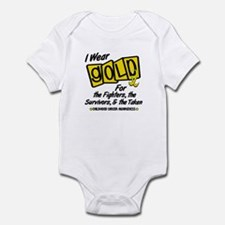 I Wear Gold For Fighters Survivors Taken 8 Infant