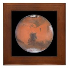 Planet Mars NASA Photo Framed Tile