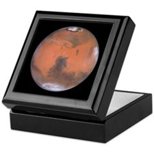 Planet Mars NASA Photo Keepsake Box