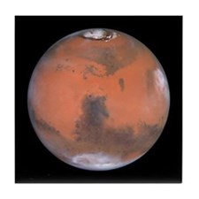 Planet Mars NASA Photo Tile Coaster