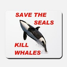 SAVE THE SEALS Mousepad