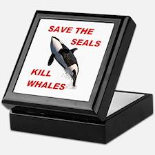SAVE THE SEALS Keepsake Box