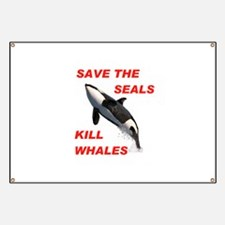 SAVE THE SEALS Banner