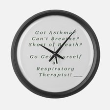 Get Yourself a Respiratory Th Large Wall Clock