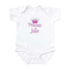 Princess Julia Infant Bodysuit