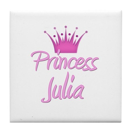 Princess Julia Tile Coaster