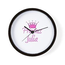 Princess Julia Wall Clock