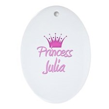 Princess Julia Oval Ornament