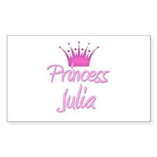 Princess Julia Rectangle Decal
