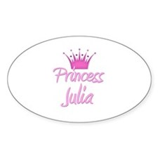 Princess Julia Oval Decal