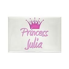 Princess Julia Rectangle Magnet