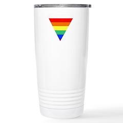 rainbow triangle Stainless Steel Travel Mug