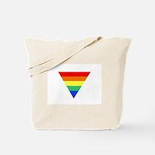 rainbow triangle Tote Bag