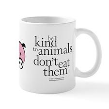 Be Kind to Animals Mug (Orange Chick)