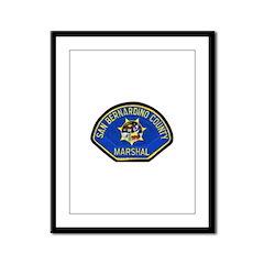 San Bernardino Marshal Framed Panel Print