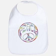 Peace Stamp II Bib